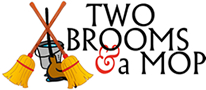 Two Brooms and a Mop